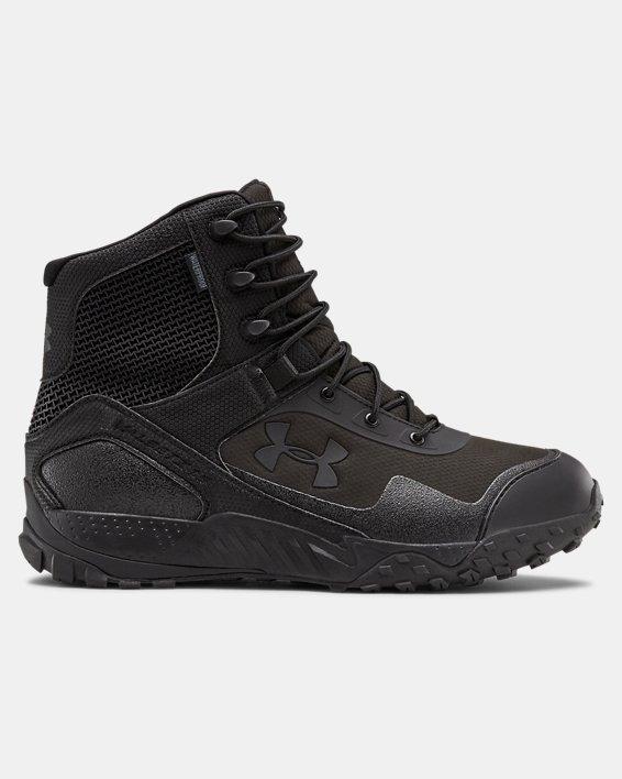 Men's UA Valsetz RTS 1.5 Waterproof Tactical Boots, Black, pdpMainDesktop image number 0