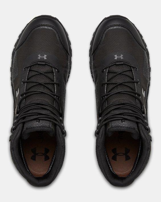 Men's UA Valsetz RTS 1.5 Waterproof Tactical Boots, Black, pdpMainDesktop image number 3