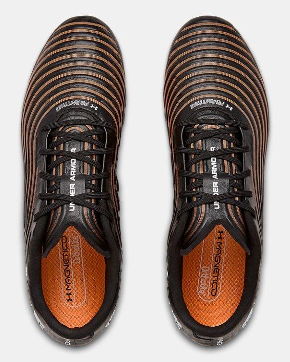 Men's UA Magnetico Control Pro FG Soccer Cleats, Black, pdpMainDesktop image number 2