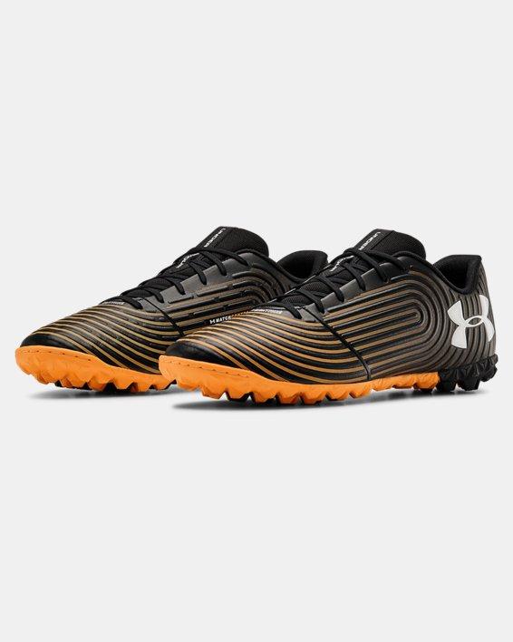 Men's UA Magnetico Control Select TF Soccer Cleats, Black, pdpMainDesktop image number 4