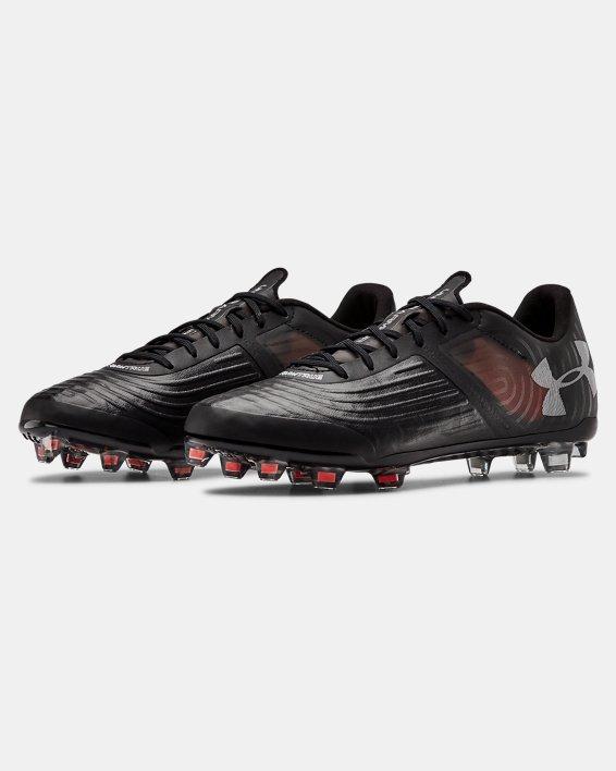 Men's UA Magnetico Pro SL FG Soccer Cleats, Black, pdpMainDesktop image number 3