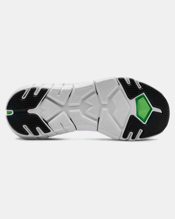 Boys' Grade School UA X Level Scramjet 2 Running Shoes, Green, pdpMainDesktop image number 4