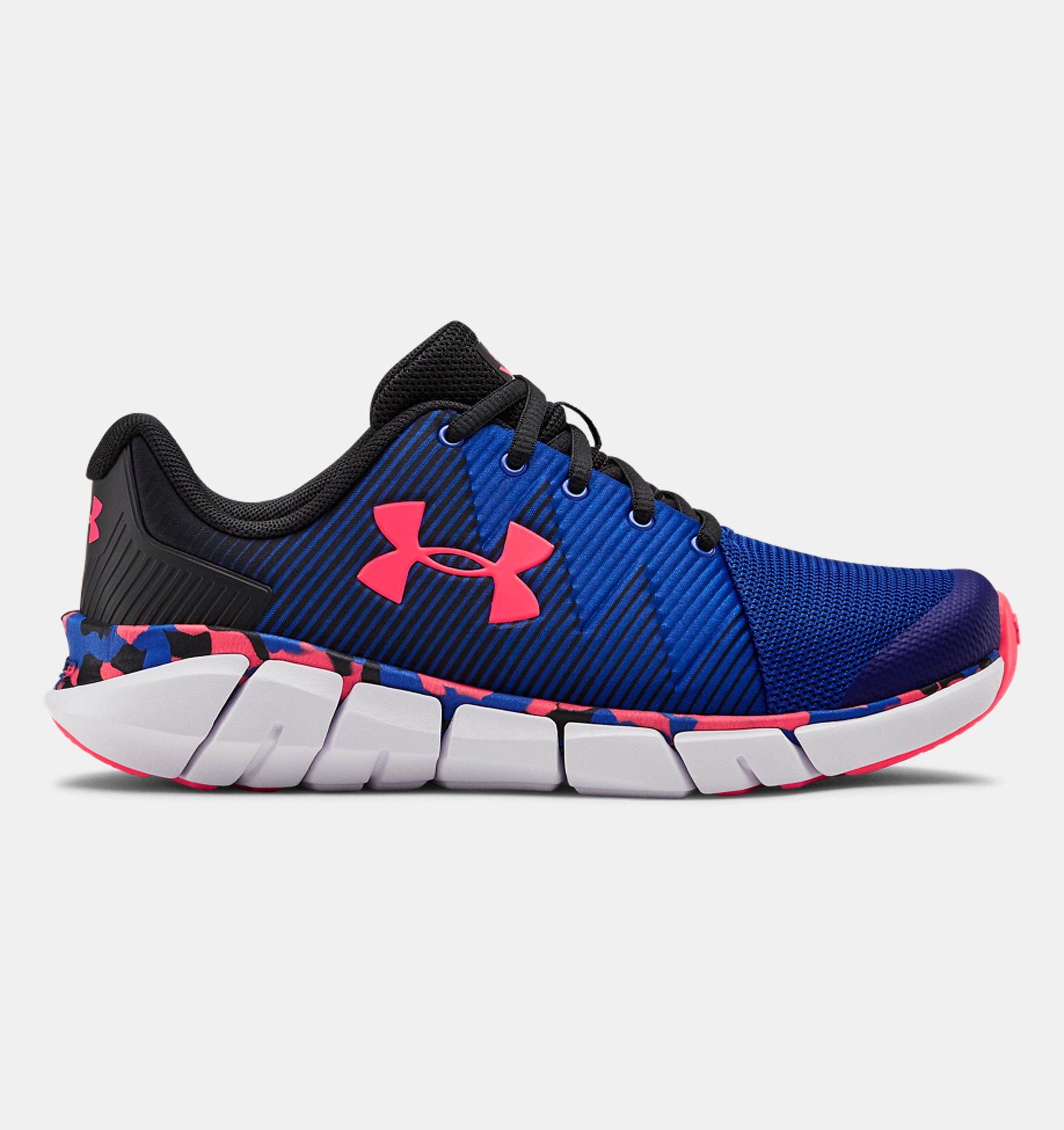 Underarmour Boys Grade School UA X Level Scramjet 2 Running Shoes