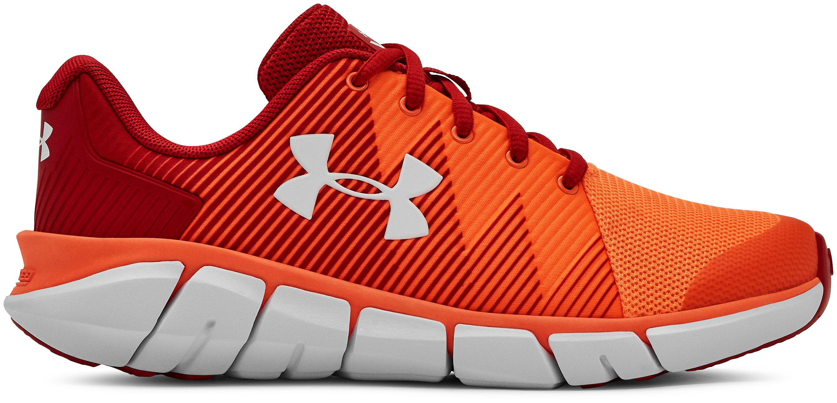 Boys' Grade School UA X Level Scramjet 2 Running Shoes, 360 degree view