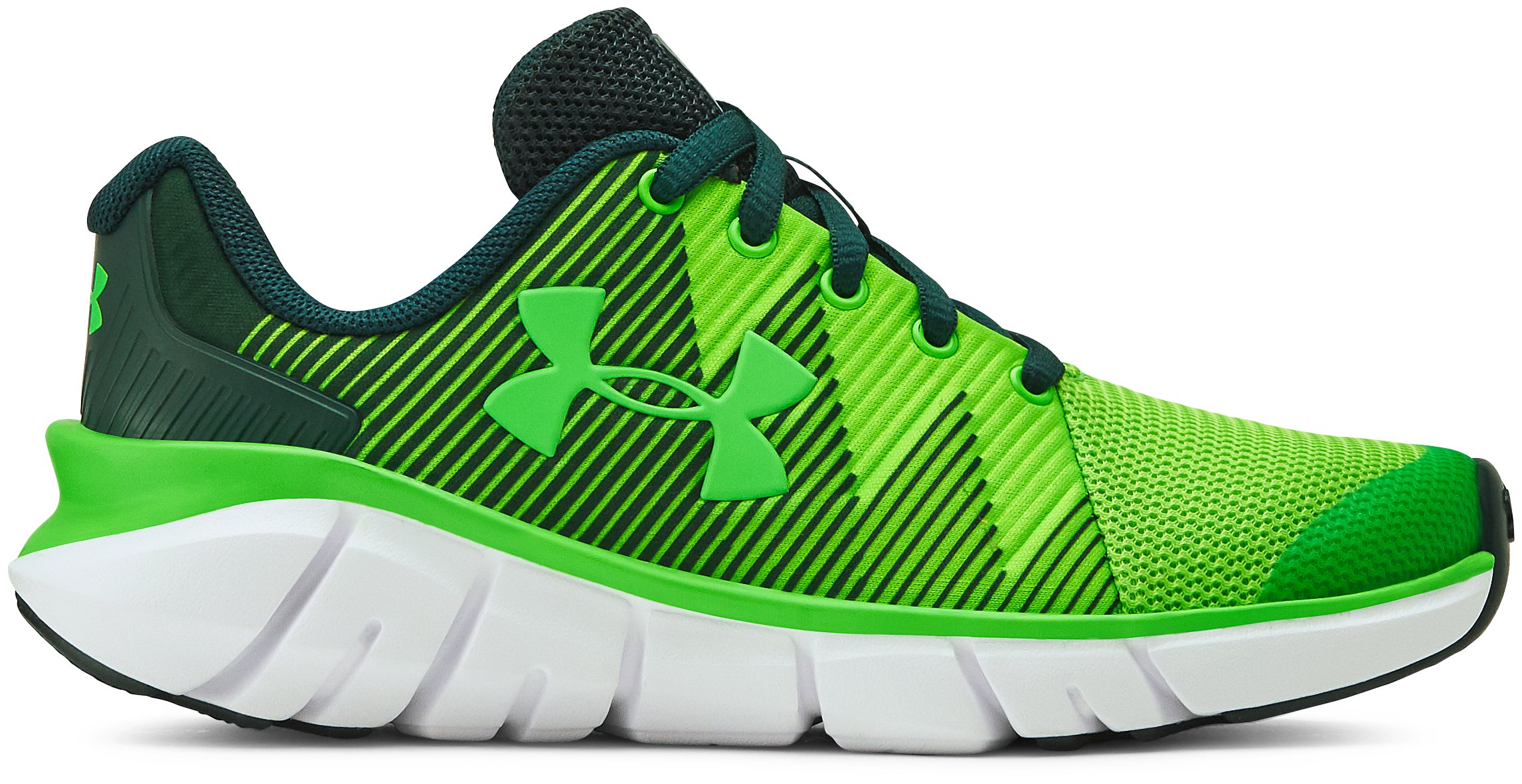 Boys' Pre-School UA X Level Scramjet 2 Running Shoes, 360 degree view