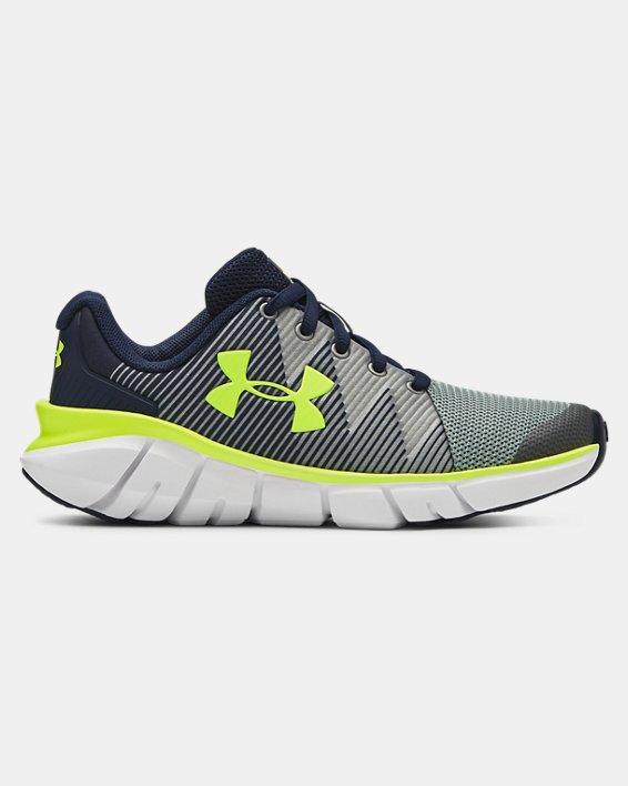 Boys' Pre-School UA X Level Scramjet 2 Running Shoes, Navy, pdpMainDesktop image number 0