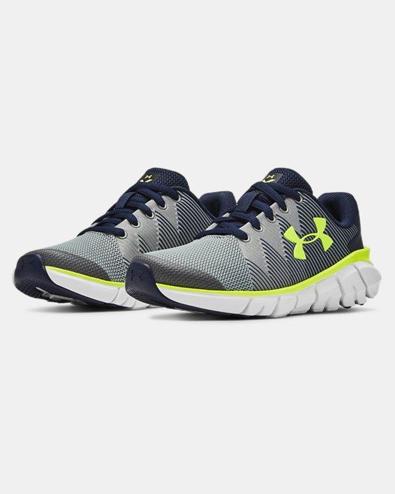 Boys' Pre-School UA X Level Scramjet 2 Running Shoes, Navy, pdpMainDesktop image number 4