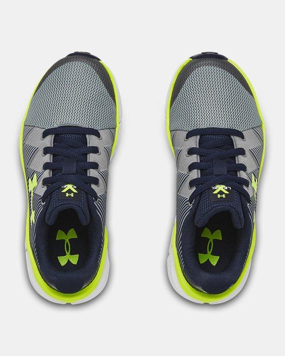 Boys' Pre-School UA X Level Scramjet 2 Running Shoes, Navy, pdpMainDesktop image number 3