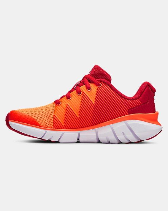 Boys' Pre-School UA X Level Scramjet 2 Running Shoes, Red, pdpMainDesktop image number 1