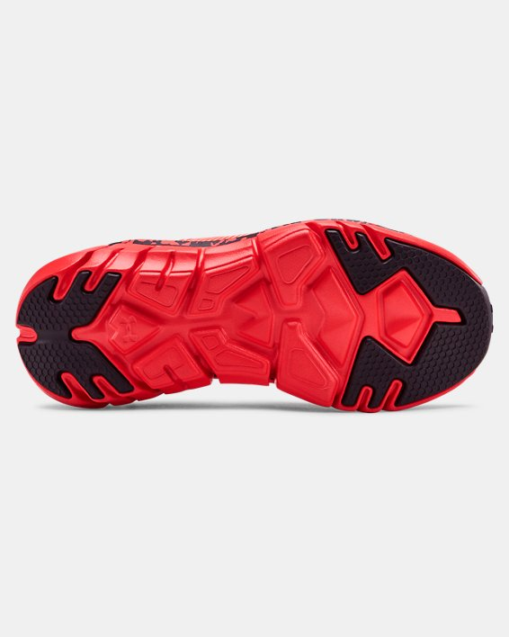 Boys' Pre-School UA X Level Scramjet 2 Running Shoes, Red, pdpMainDesktop image number 2