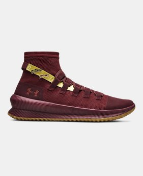 Mens Maroon Basketball Athletic Shoes Under Armour Us