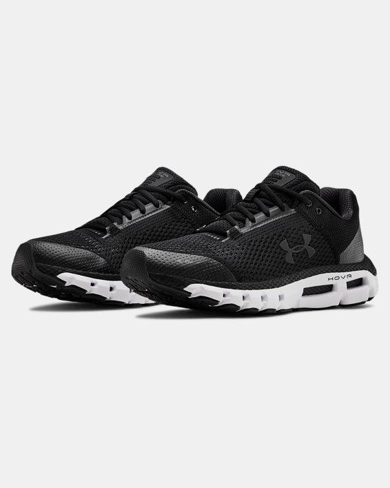 Men's UA HOVR™ Infinite Wide 4E Running Shoes, Black, pdpMainDesktop image number 4