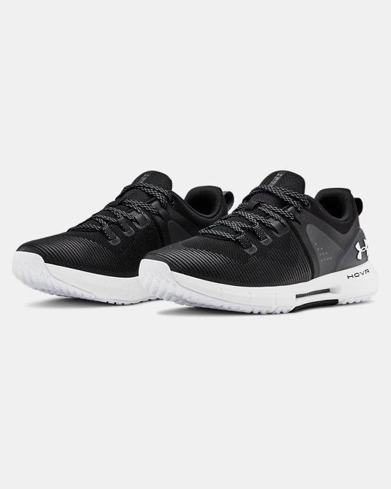 Women's UA HOVR™ Rise Training Shoes, Black, pdpMainDesktop image number 3