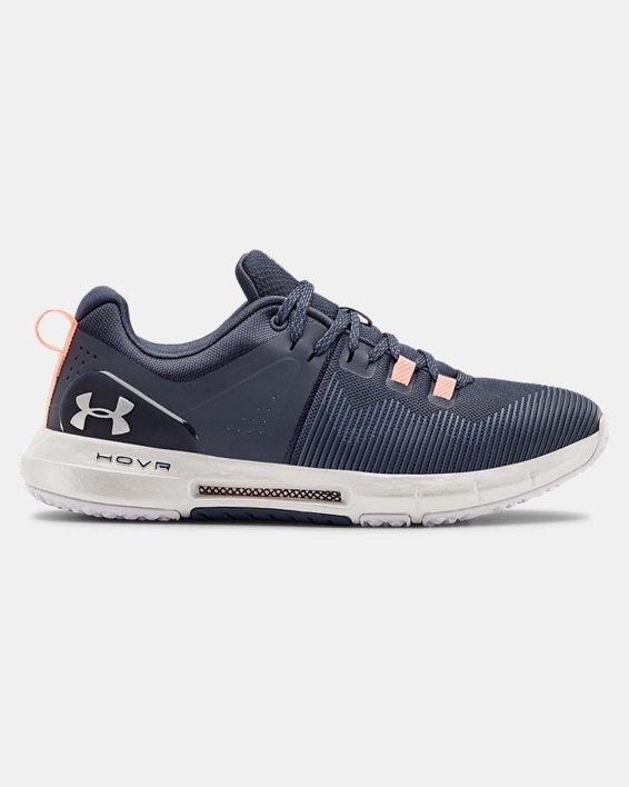 Women's UA HOVR™ Rise Training Shoes, Blue, pdpMainDesktop image number 0