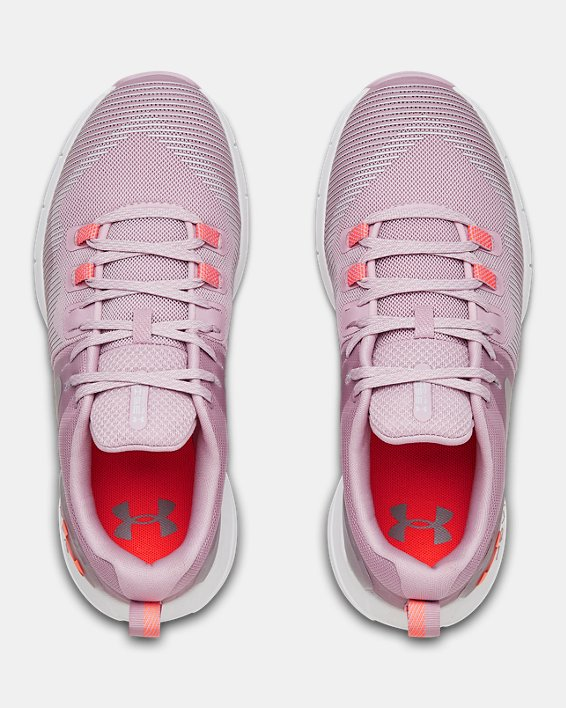 Women's UA HOVR™ Rise Training Shoes, Pink, pdpMainDesktop image number 2
