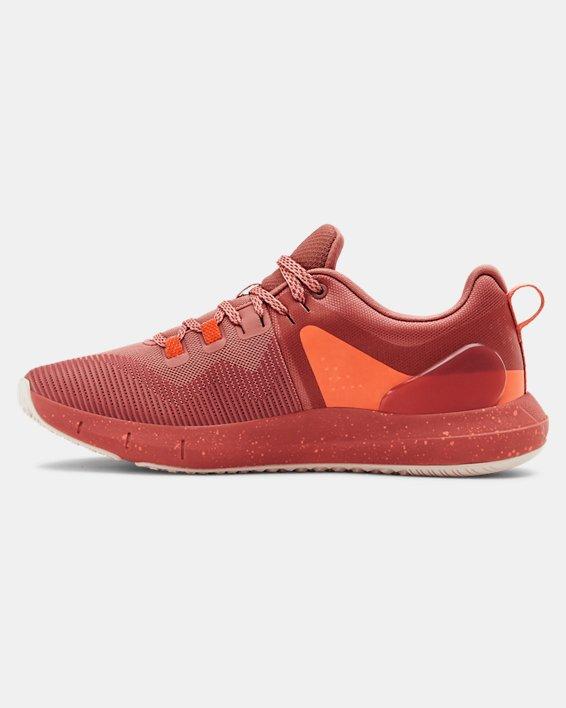 Women's UA HOVR™ Rise Training Shoes, Orange, pdpMainDesktop image number 1