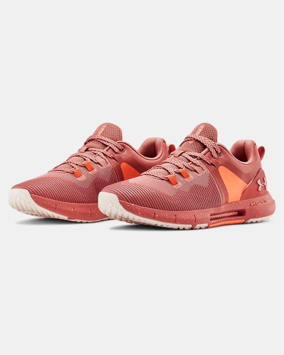 Women's UA HOVR™ Rise Training Shoes, Orange, pdpMainDesktop image number 3
