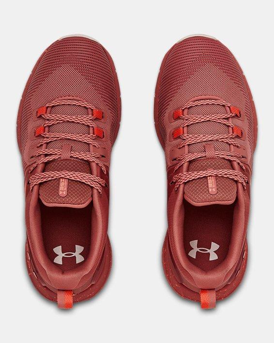 Women's UA HOVR™ Rise Training Shoes, Orange, pdpMainDesktop image number 2