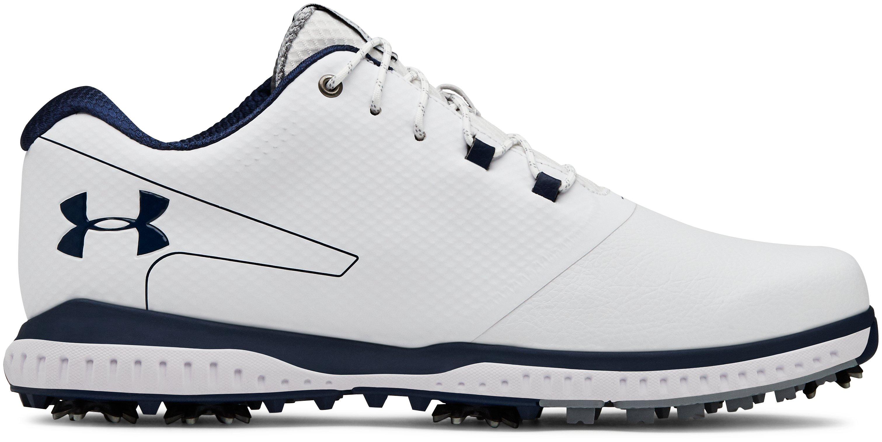 Sepatu Golf UA Fade RST 2 Wide EE untuk Pria, 360 degree view