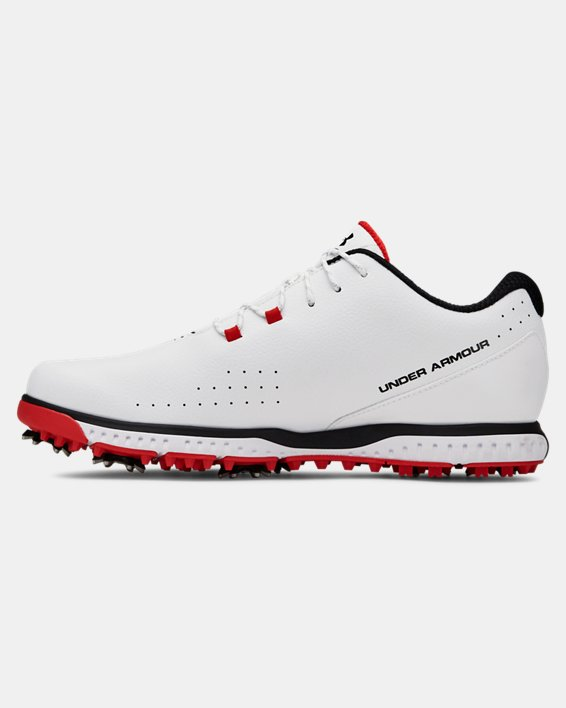 Men's UA Medal RST Wide E Golf Shoes, White, pdpMainDesktop image number 1