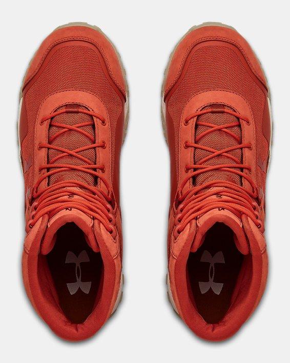 Men's UA Valsetz Cordura Sportstyle Shoes, Orange, pdpMainDesktop image number 3