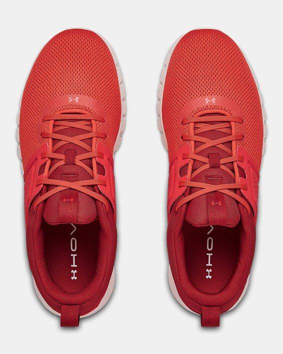 Men's UA HOVR™ CTW Sportstyle Shoes, Red, pdpMainDesktop image number 3