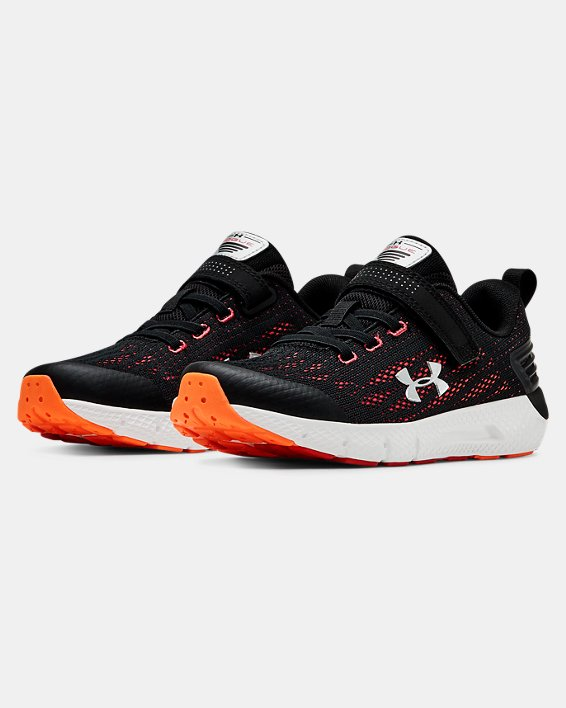 Pre-School UA Rogue AC Running Shoes, Black, pdpMainDesktop image number 3