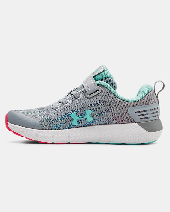 Girls' Pre-School UA Rogue AC Running Shoes, Gray, pdpMainDesktop image number 1