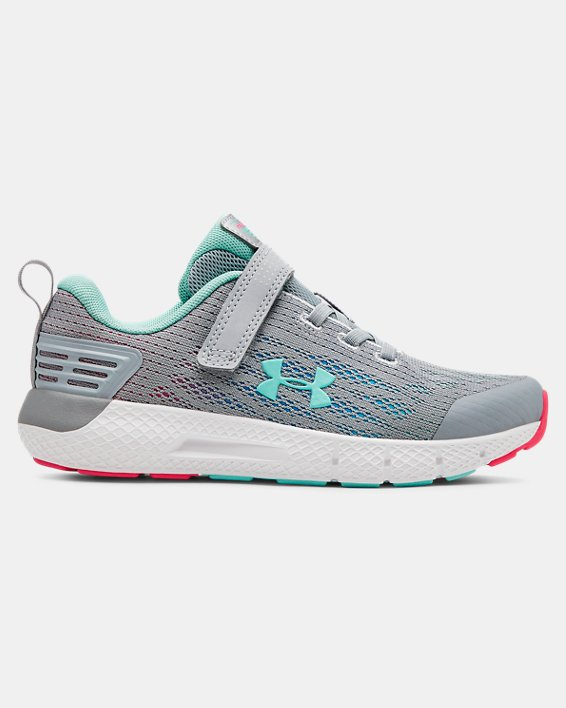 Girls' Pre-School UA Rogue AC Running Shoes, Gray, pdpMainDesktop image number 0