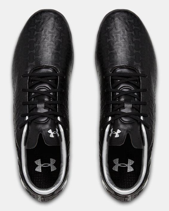 Men's UA Magnetico Pro FG T Soccer Cleats, Black, pdpMainDesktop image number 3