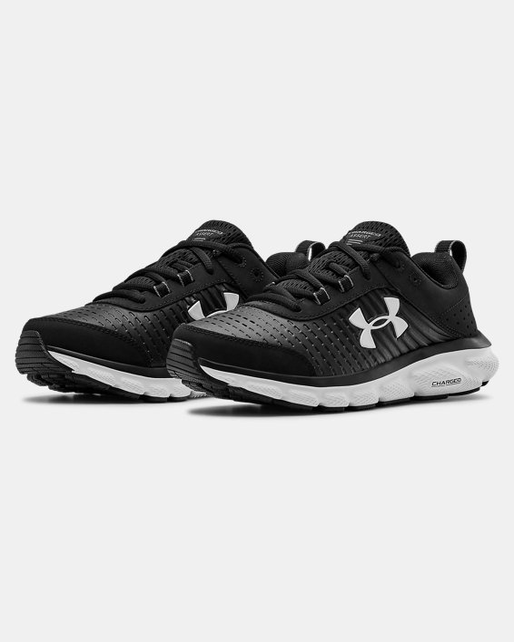 Women's UA Charged Assert 8 LTD Running Shoes, Black, pdpMainDesktop image number 4