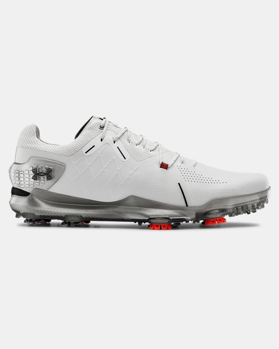 Men's UA Spieth 4 GORE-TEX® Golf Shoes, White, pdpMainDesktop image number 0