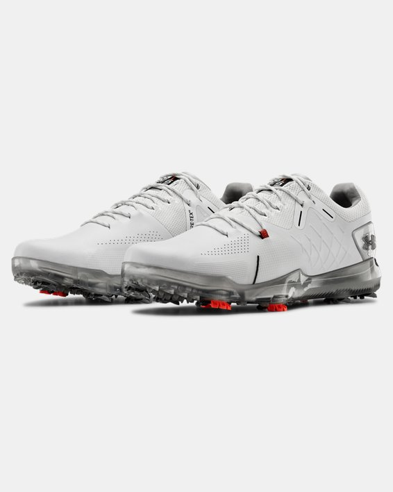 Men's UA Spieth 4 GORE-TEX® Golf Shoes, White, pdpMainDesktop image number 4