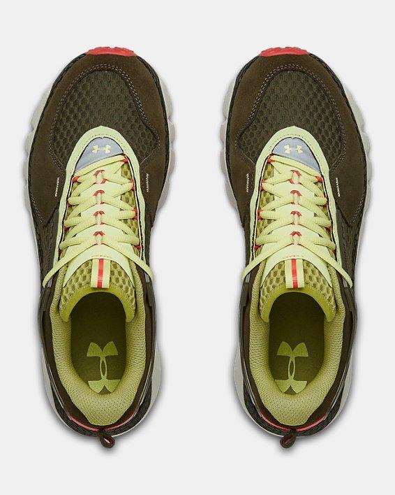 Unisex UA HOVR™ Summit Sportstyle Shoes, Green, pdpMainDesktop image number 2