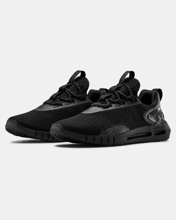 Men's UA HOVR™ STRT Sportstyle Shoes, Black, pdpMainDesktop image number 3