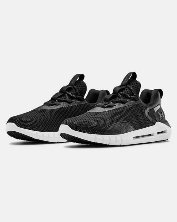 Men's UA HOVR™ STRT Sportstyle Shoes, Black, pdpMainDesktop image number 3