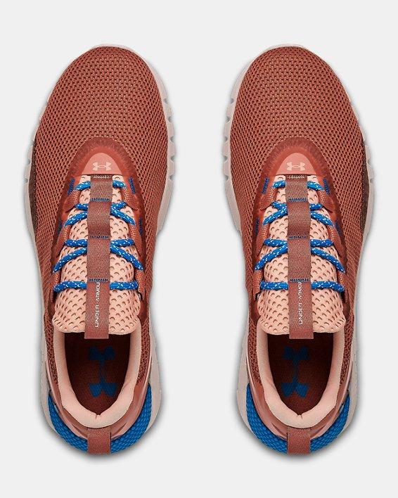 Men's UA HOVR™ STRT Sportstyle Shoes, Brown, pdpMainDesktop image number 2