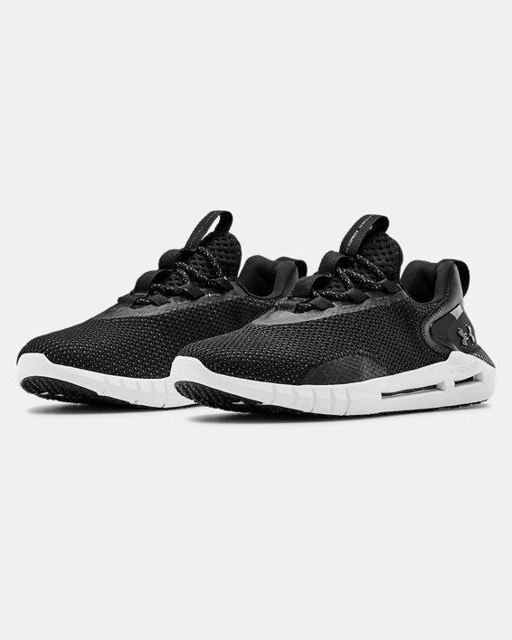 Women's UA HOVR™ STRT Sportstyle Shoes, Black, pdpMainDesktop image number 3