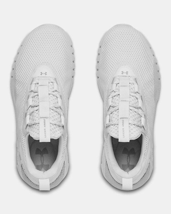 Women's UA HOVR™ STRT Sportstyle Shoes, White, pdpMainDesktop image number 2