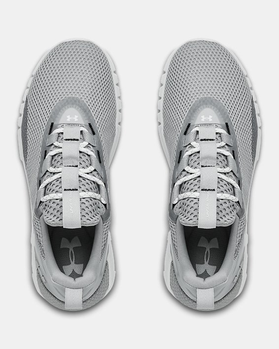 Women's UA HOVR™ STRT Sportstyle Shoes, Gray, pdpMainDesktop image number 2