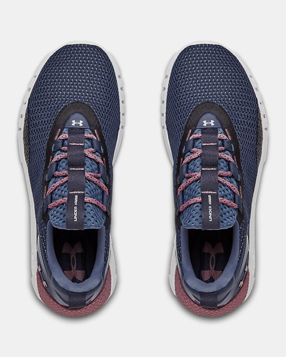 Women's UA HOVR™ STRT Sportstyle Shoes, Blue, pdpMainDesktop image number 2