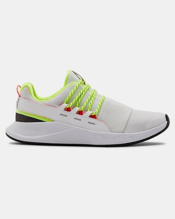 Women's UA Charged Breathe LACE Sportstyle Shoes, White, pdpMainDesktop image number 0