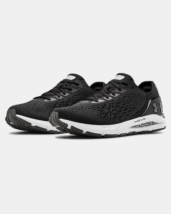 Men's UA HOVR™ Sonic 3 Running Shoes, Black, pdpMainDesktop image number 3