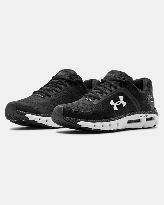 Men's UA HOVR™ Infinite 2 Running Shoes, Black, pdpMainDesktop image number 3