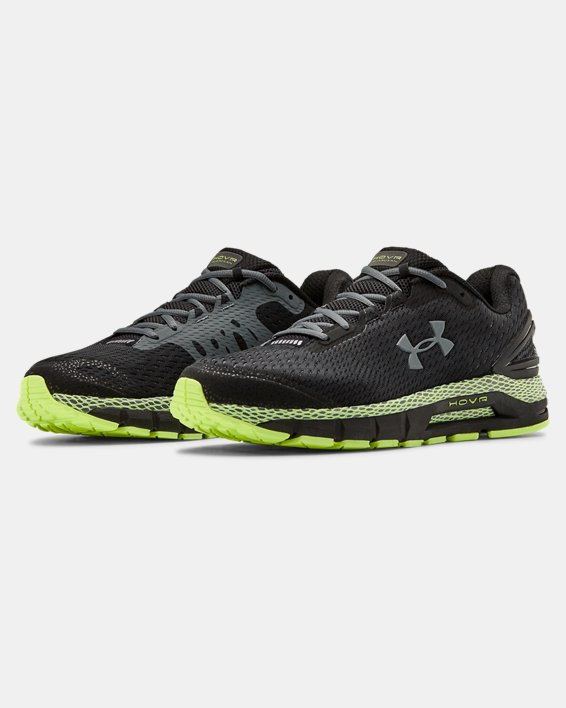 Men's UA HOVR™ Guardian 2 Running Shoes, Black, pdpMainDesktop image number 3