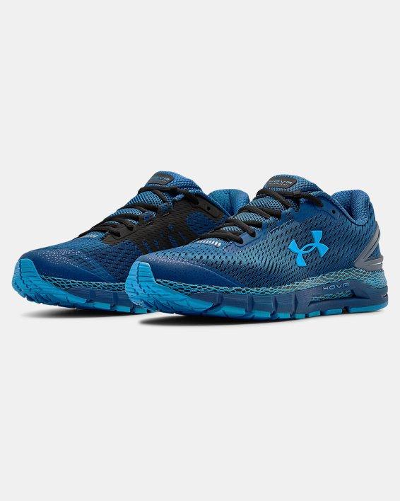 Men's UA HOVR™ Guardian 2 Running Shoes, Blue, pdpMainDesktop image number 3