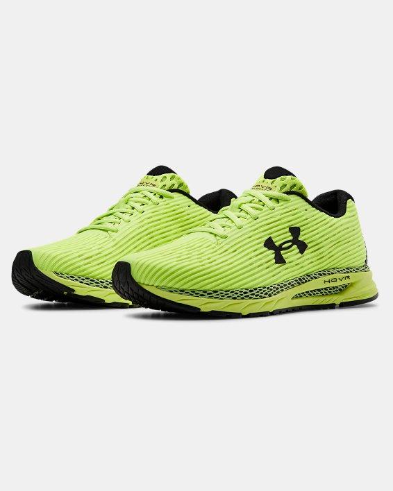 Men's UA HOVR™ Velociti 3 Running Shoes, Yellow, pdpMainDesktop image number 3