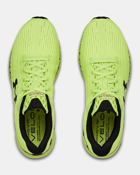 Men's UA HOVR™ Velociti 3 Running Shoes, Yellow, pdpMainDesktop image number 2