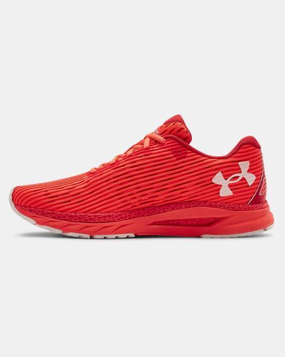 Men's UA HOVR™ Velociti 3 Running Shoes, Red, pdpMainDesktop image number 1