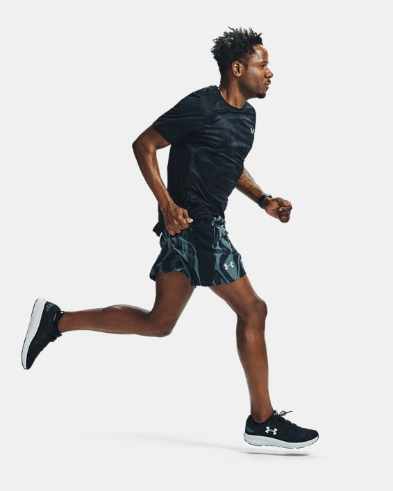 Men's UA Charged Pursuit 2 Running Shoes, Black, pdpMainDesktop image number 4
